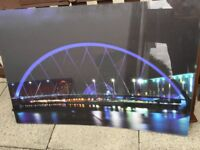 Perspex image of Glasgow