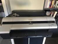 Canon iPF605 large format plotter A1