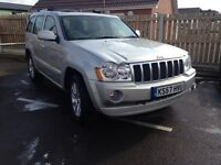 Grand Cherokee 3.0l crd overland 2008