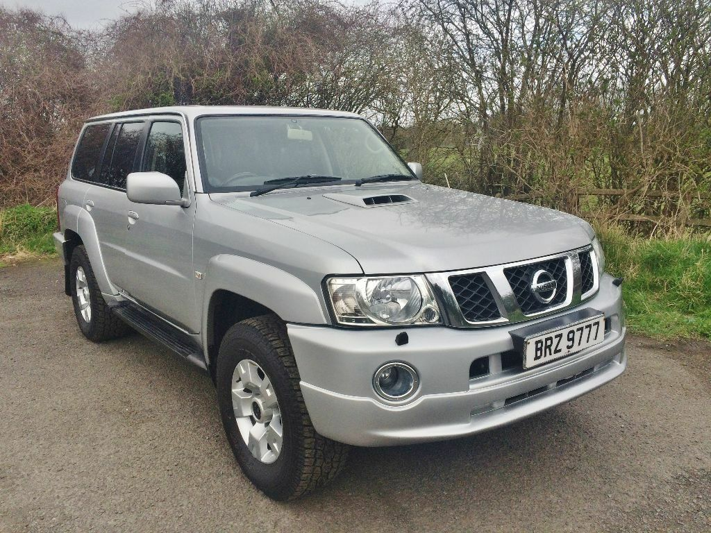 2005 nissan patrol di sve diesel auto 4x4 7 seater facelift model in newcastle tyne and wear. Black Bedroom Furniture Sets. Home Design Ideas