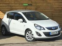 Vauxhall Corsa 1.2 Excite 5dr [AC] LOVELY LOW MILEAGE EXAMPLE (glacier white) 2014
