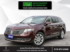 2018 Lincoln MKT ***Cap Unit, NAV, AWD, active park assist***