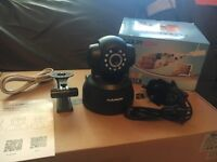 INTERNAL IP WIRELESS PTZ CCTV CAMERA