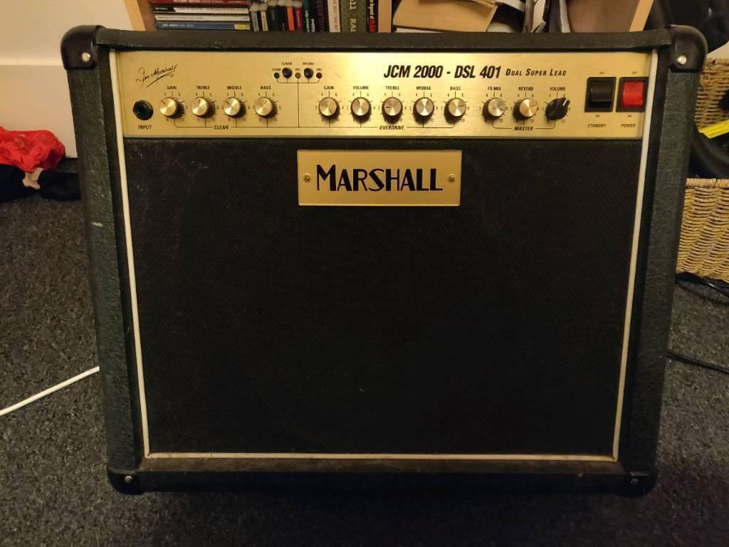 Marshall JCM2000 DSL401 40w valve combo guitar amp 1x12 | in Sherborne,  Dorset | Gumtree