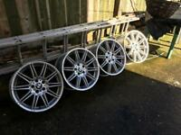 19 Inch Original BMW M Sport Wider rear alloy wheels