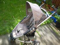 Immaculate pushchair,pram, folded
