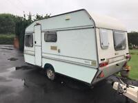 Elddis 4 birth caravan