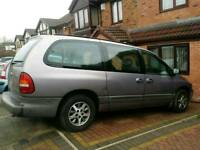 7 seater LPG converted Chrysler Grand Voyager