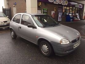 Vauxhall Corsa 1.2 i 16v Envoy 3dr PART EXCHANGE TO CLEAR