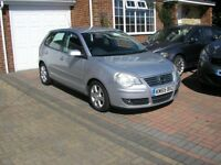 (2005) VW POLO 1.4 SPORT TDI MET/SILVER 5 DOOR (79000 MILES IMMACULATE CONDITION