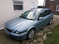 Jaguar x type 2.0 diesel estate duel mass flywheel needs changing but still drives