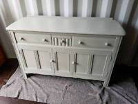 Stunning Ercol sideboard painted in farrow and ball