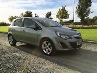2014 Dec Vauxhall Corsa 1.4 SXI A/C 5-door in Silver Grey, 21000 miles FSH Mint condition