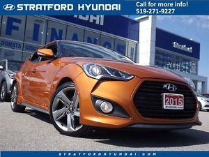 2015 Hyundai Veloster Turbo | NAVIGATION | SUNROOF | LEATHER |