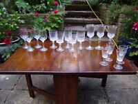 Wine glasses, great condition