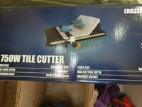 Erbauer 750W Tile Cutter. NEVER USED
