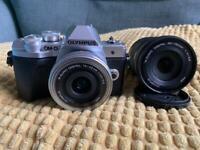 Olympus omd em10mk3 twin lens