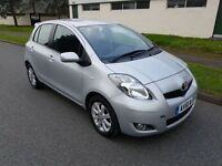Toyota Yaris 1.33 VVT-i T Spirit 5dr, 1 OWNER FROM NEW, 2 KEYS, SAT NAV, PARKING SENSORS, 2 KEYS
