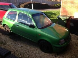 SPARES & REPAIRS. NISSAN MICRA . New tyres/ new battery/ new stereo.