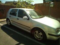 03 Volkswagon Golf Automatic/Petrol