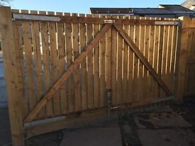 Double Driveway Gates For Sale