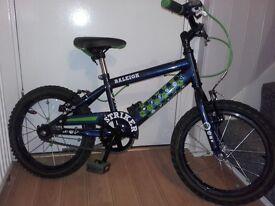 Boys Raleigh bike 14inch wheel