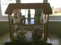 Dolls house solid wood