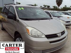 2004 Toyota Sienna CE 7 SEATS + VERY LOW KMS + LOCAL + MUST GO!!
