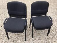 FOUR OFFICE CHAIRS £40