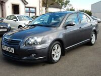 2006 toyota avensis T3-x only 85000 miles full history 1 owner from, motd oct 2017