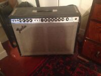 1970's Fender Twin Reverb Silverface Amp Vintage