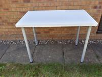 Ikea table desk - white