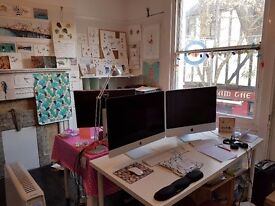 Desk to Rent in Bright, Airy Office in the Heart of North Laine