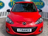 CAN'T GET CREDIT? CALL US! Mazda 2 1.3 Venture Edition, 2013, Manual - £200 DEPOSIT, £43 PER WEEK