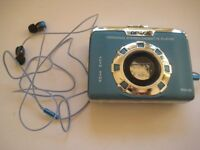 VINTAGE OMEGA WM-06 PERSONAL STEREO CASSETTE PLAYER WITH EAR PHONES