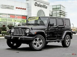 2016 Jeep Wrangler Unlimited SAHARA | ONE OWNER | HEATED SEATS |