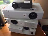 4x Projector Job lot - Various Conditions - Please Read Description!