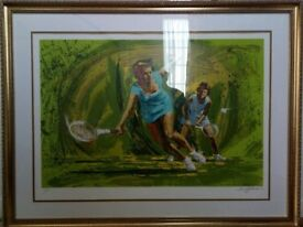 Large picture of two tennis players.