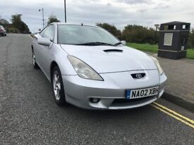 toyota celica vvti 1.8 6 months mot great condtion and driver