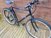 Vintage Peugeot fab formula gents mountain bike 10 gears 20 inch frame 26 inch wheels
