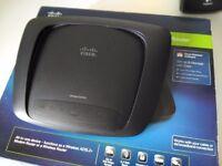Cisco Linksys x2000 ADSL2+ Wireless-N Modem Router