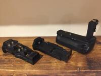Canon 6D Battery Grip with AA tray and Canon Tray