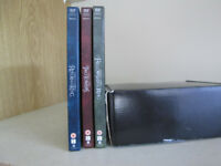 3 Lord of the Rings dvds - very good/entertaining/classic-gift - personal treat