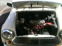 Classic mini 30 with 1300 engine