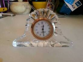 cute little glass clock
