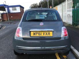 2011 (61 reg) Fiat 500 1.2 Lounge 3dr (start/stop) Hatchback