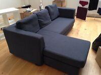 Sofa and Chaise Combination - Slate colour. Kennington.