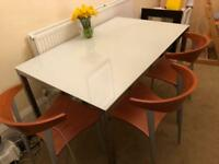 Ikea Torsby glass top table