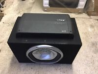 Sony Xplod Sub, Vibe A3 4 Channel Amp & Vibe QB69 Speaker Package
