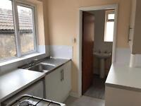 1 bedroom flat with seperate sitting room and dining area.